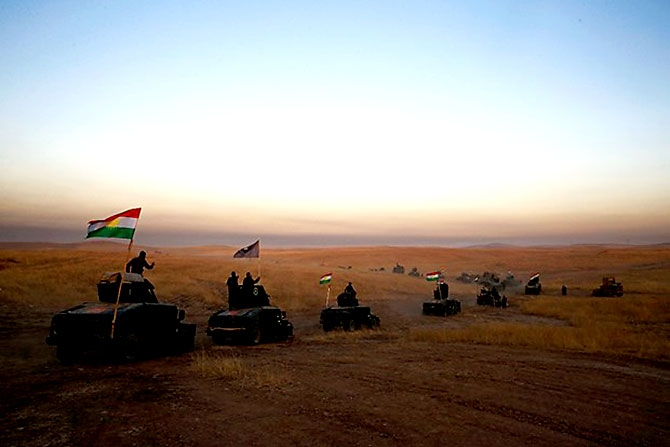 Fotoğraflarla Peşmerge'nin Musul Operasyonu galerisi resim 23
