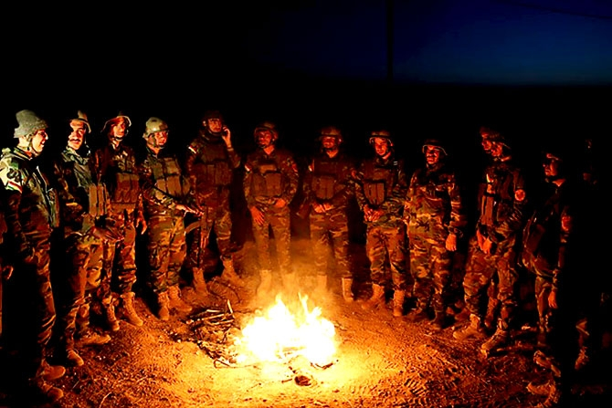 Fotoğraflarla Peşmerge'nin Musul Operasyonu galerisi resim 26