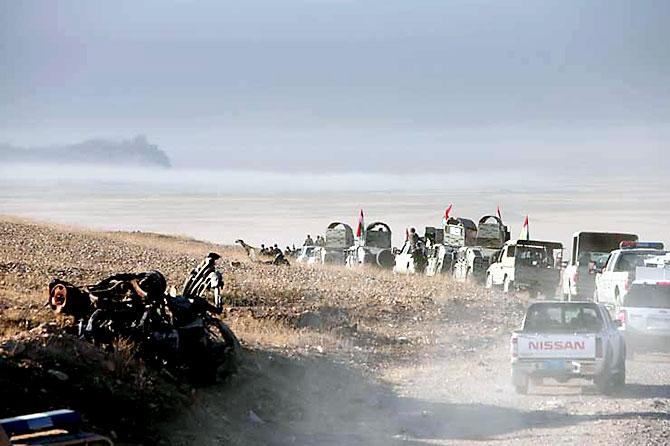 Fotoğraflarla Peşmerge'nin Musul Operasyonu galerisi resim 36