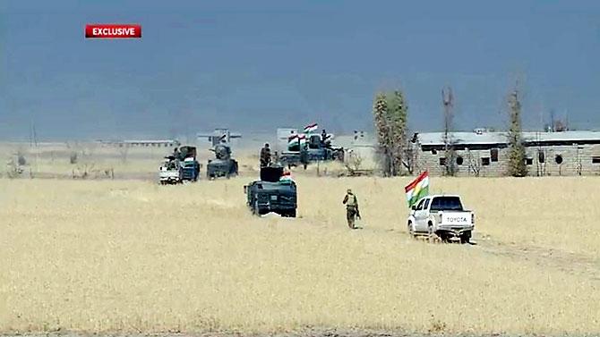 Fotoğraflarla Peşmerge'nin Musul Operasyonu galerisi resim 41