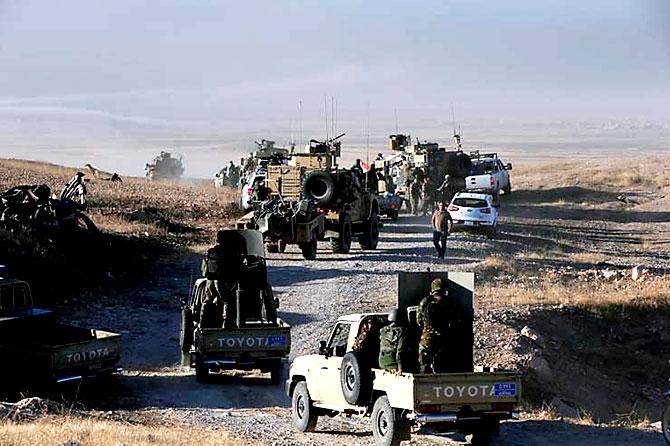 Fotoğraflarla Peşmerge'nin Musul Operasyonu galerisi resim 43