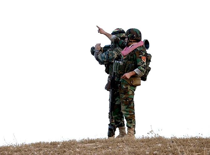 Fotoğraflarla Peşmerge'nin Musul Operasyonu galerisi resim 78