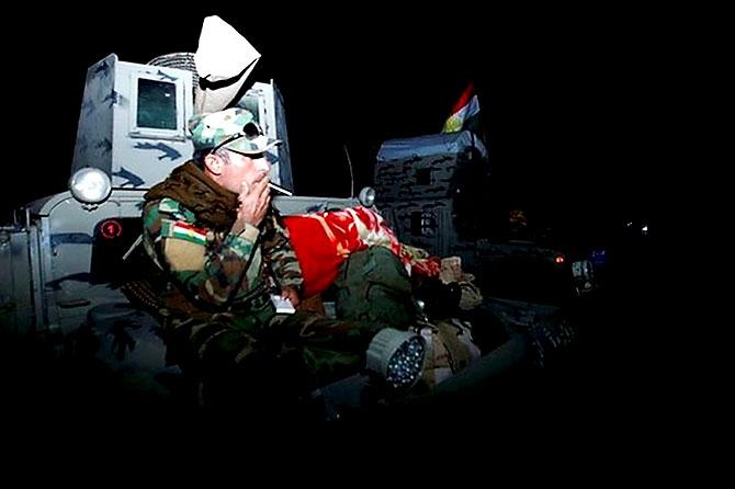 Fotoğraflarla Peşmerge'nin Musul Operasyonu galerisi resim 8