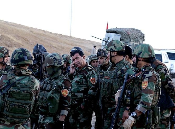 Fotoğraflarla Peşmerge'nin Musul Operasyonu galerisi resim 82