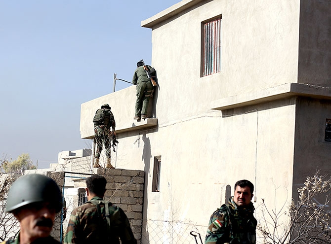 Fotoğraflarla Peşmerge'nin Musul Operasyonu galerisi resim 84