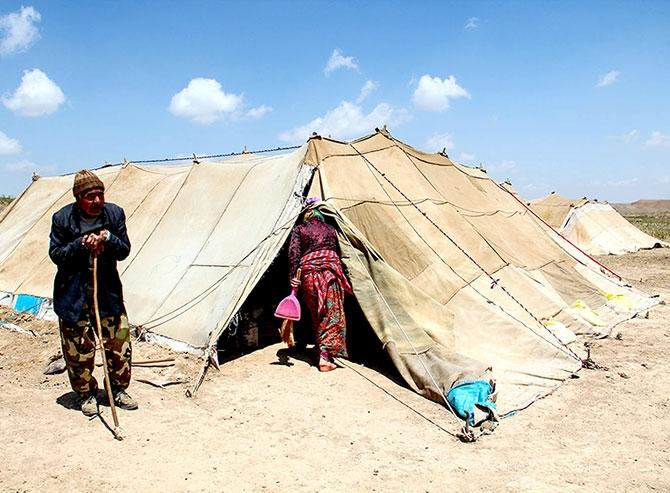 Fotoğraflarla Horasan göçerleri galerisi resim 1