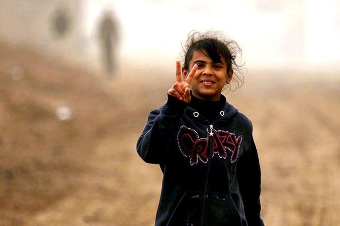 Kum fırtınasına rağmen Musul'dan kaçış galerisi resim 2