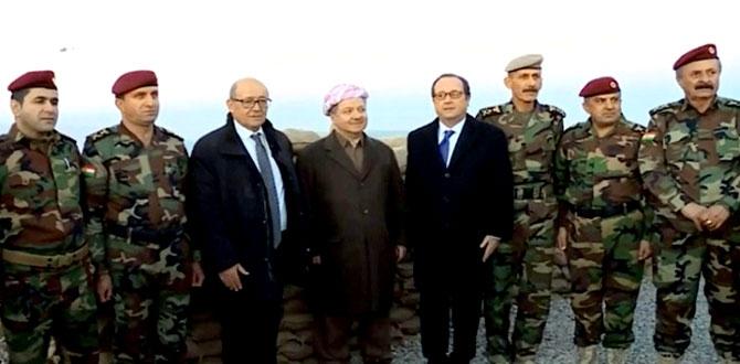 Fransa Cumhurbaşkanı Hollande Hewler'de galerisi resim 1