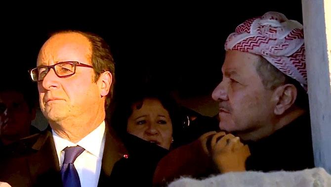 Fransa Cumhurbaşkanı Hollande Hewler'de galerisi resim 10