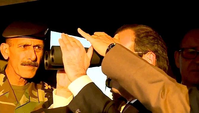 Fransa Cumhurbaşkanı Hollande Hewler'de galerisi resim 11
