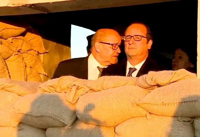 Fransa Cumhurbaşkanı Hollande Hewler'de galerisi resim 17