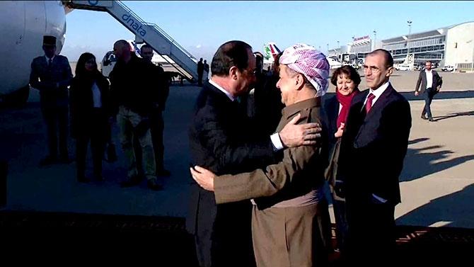 Fransa Cumhurbaşkanı Hollande Hewler'de galerisi resim 2