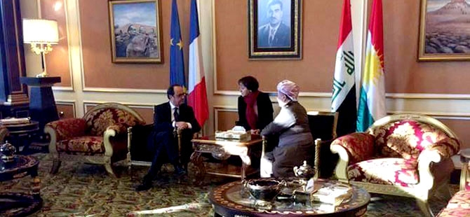 Fransa Cumhurbaşkanı Hollande Hewler'de galerisi resim 3