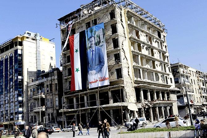 Suriye'nin Halep kentinden geriye kalanlar galerisi resim 10