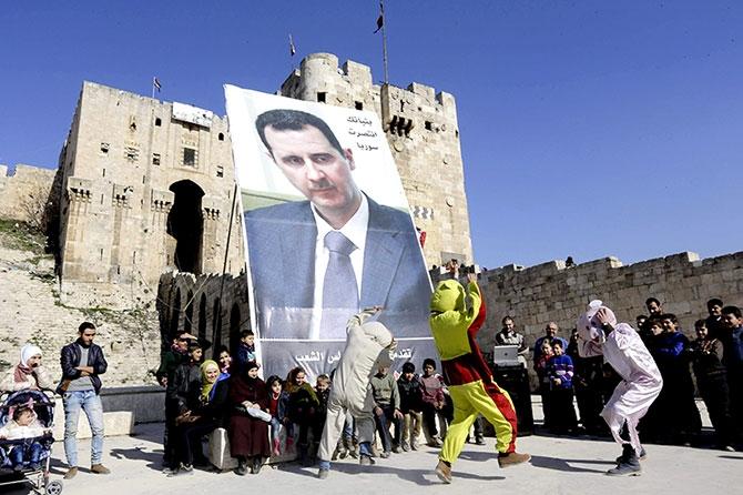 Suriye'nin Halep kentinden geriye kalanlar galerisi resim 3