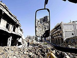 Suriye'nin Halep kentinden geriye kalanlar