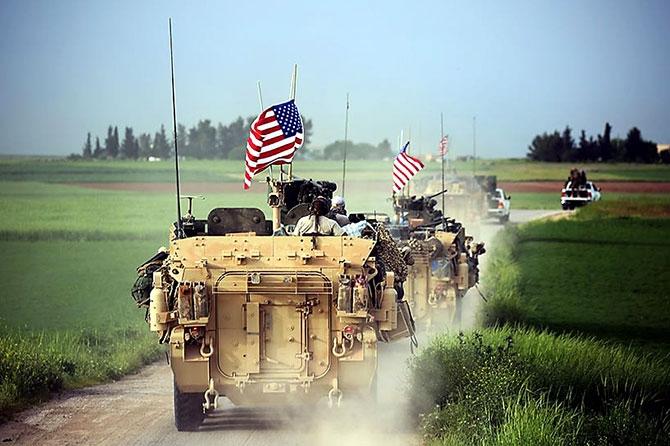 ABD zırhlıları Rojava-Türkiye sınırında galerisi resim 1