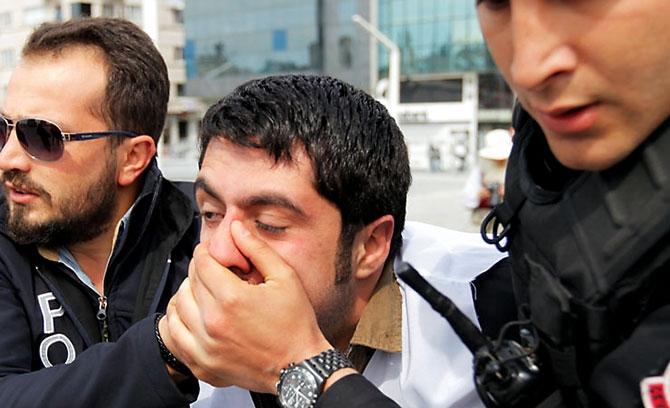 Reuters kareleriyle İstanbul'da 1 Mayıs galerisi resim 1