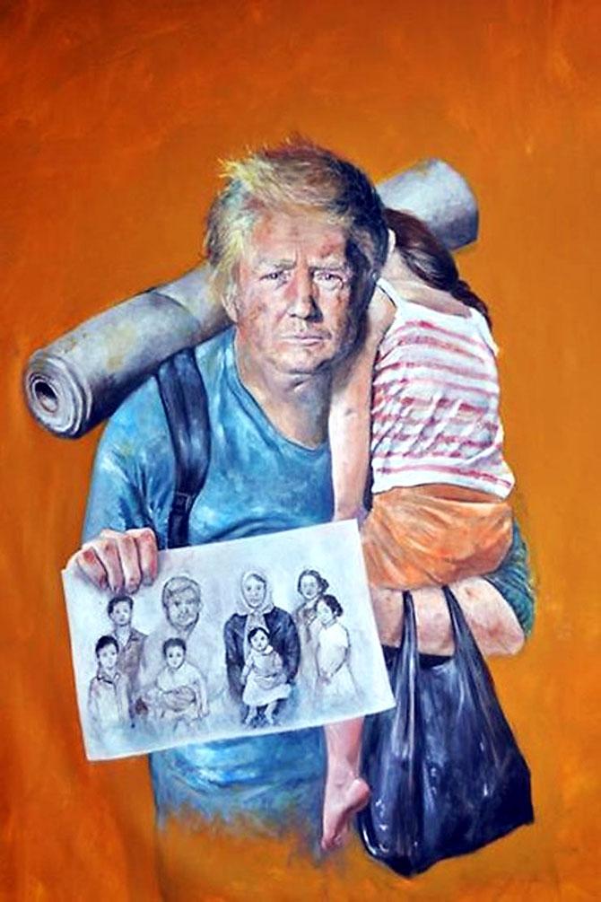 Dünya liderleri mülteci oldu galerisi resim 2