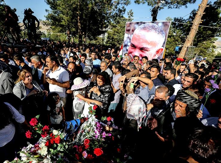 Newşirwan Mustafa vefatının 40'ıncı gününde anıldı galerisi resim 1