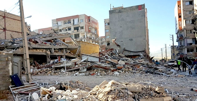 Kirmanşah'ta (Kasrı Şirin) deprem... galerisi resim 1
