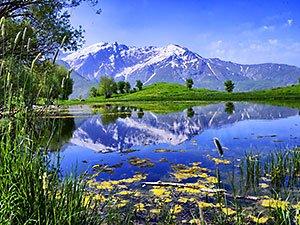 Kürdistan'ın doğa harikası: Felaw göleti