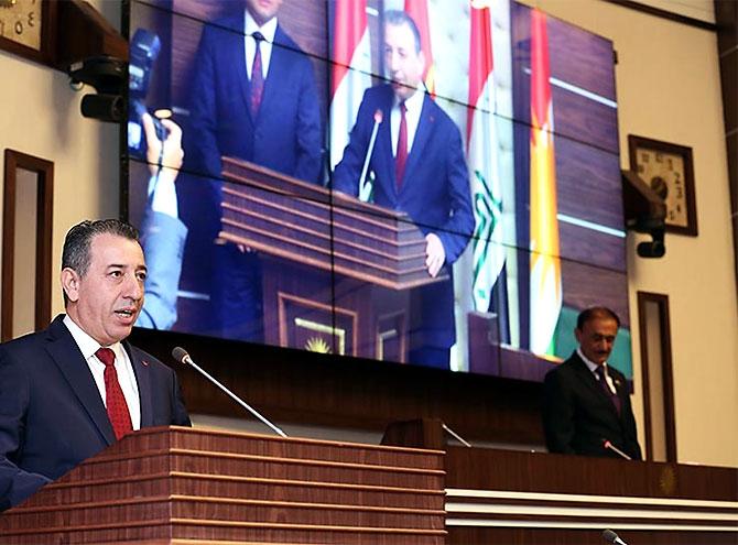 Kürdistan Parlamentosu'nun yeni üyeleri yemin etti galerisi resim 11