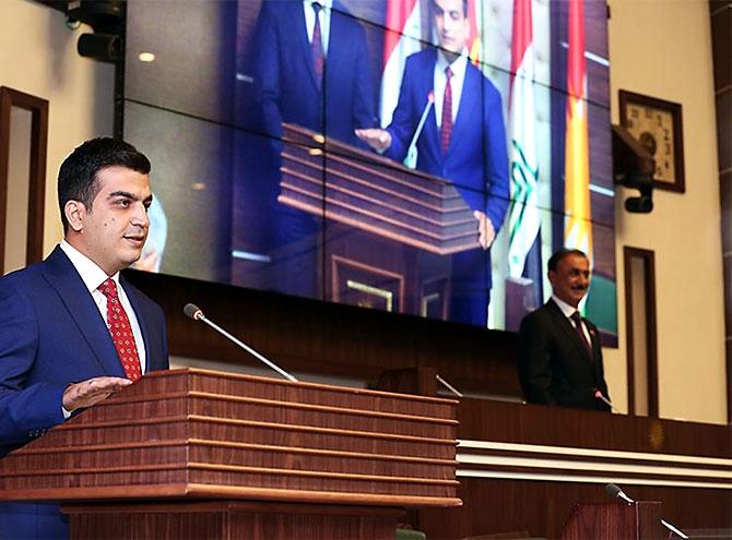 Kürdistan Parlamentosu'nun yeni üyeleri yemin etti galerisi resim 12
