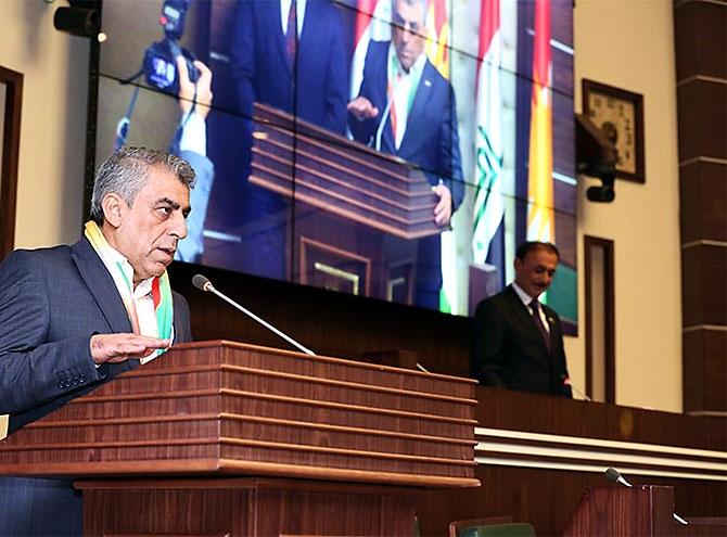 Kürdistan Parlamentosu'nun yeni üyeleri yemin etti galerisi resim 13