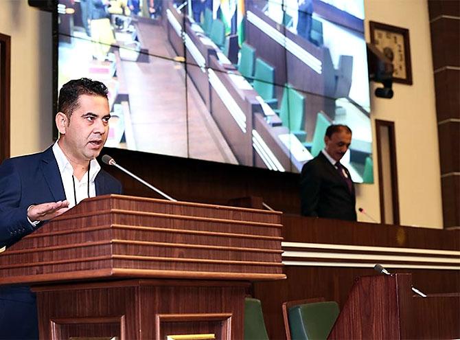 Kürdistan Parlamentosu'nun yeni üyeleri yemin etti galerisi resim 15