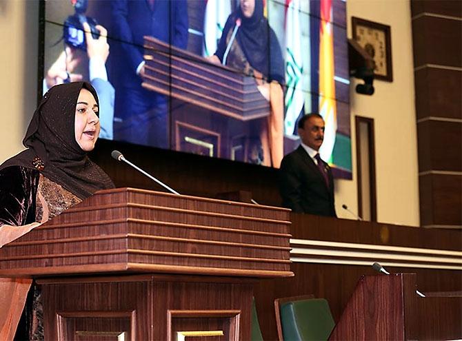 Kürdistan Parlamentosu'nun yeni üyeleri yemin etti galerisi resim 17