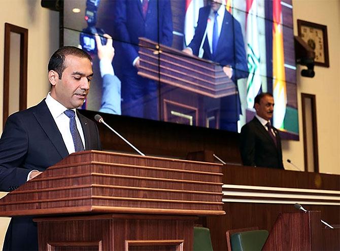 Kürdistan Parlamentosu'nun yeni üyeleri yemin etti galerisi resim 18