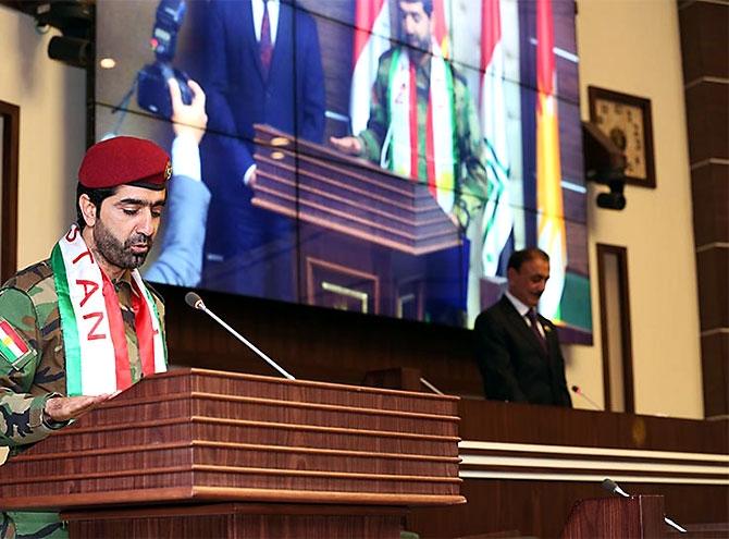 Kürdistan Parlamentosu'nun yeni üyeleri yemin etti galerisi resim 19