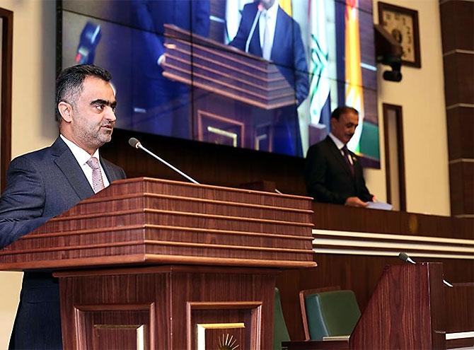 Kürdistan Parlamentosu'nun yeni üyeleri yemin etti galerisi resim 20
