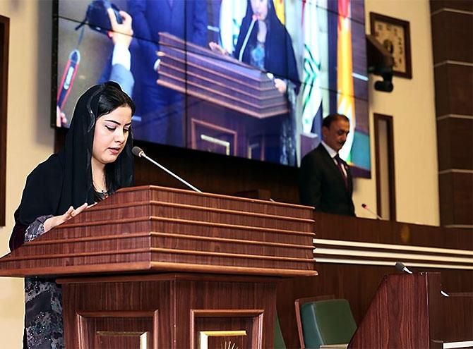 Kürdistan Parlamentosu'nun yeni üyeleri yemin etti galerisi resim 21