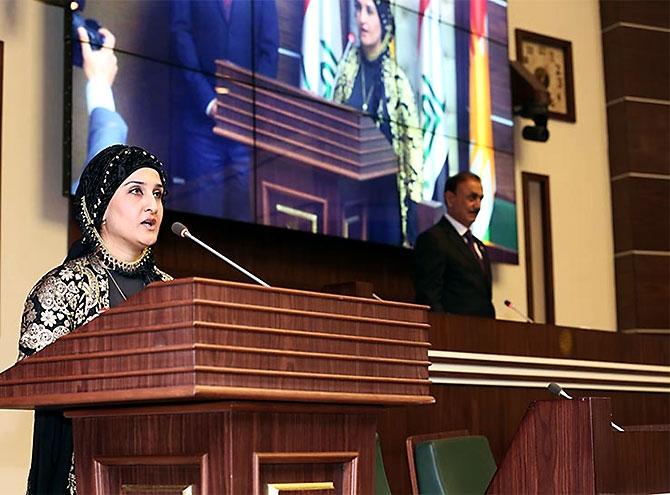 Kürdistan Parlamentosu'nun yeni üyeleri yemin etti galerisi resim 22