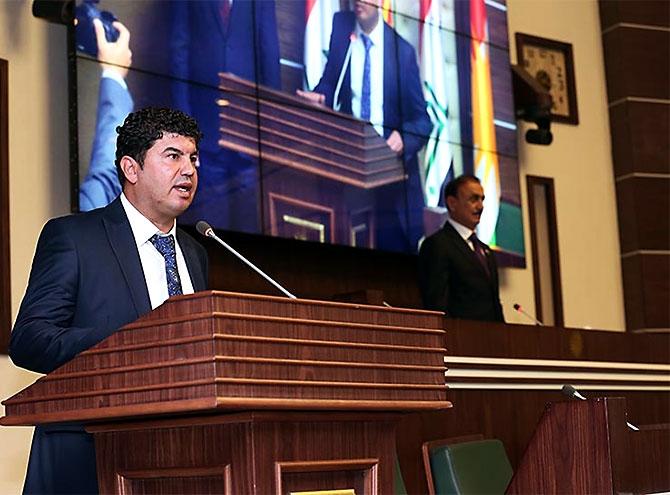 Kürdistan Parlamentosu'nun yeni üyeleri yemin etti galerisi resim 24