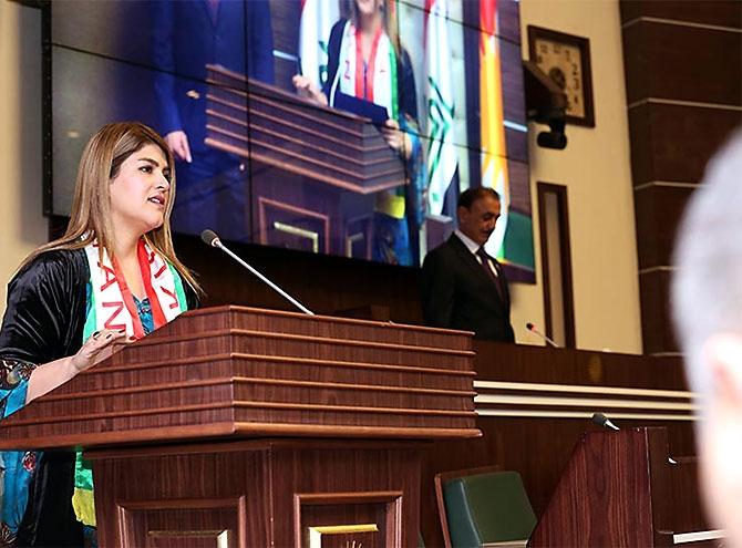 Kürdistan Parlamentosu'nun yeni üyeleri yemin etti galerisi resim 25