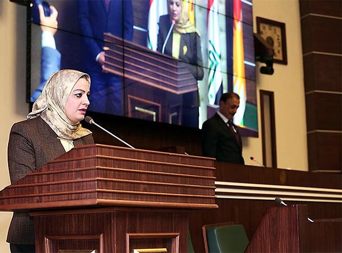 Kürdistan Parlamentosu'nun yeni üyeleri yemin etti galerisi resim 26