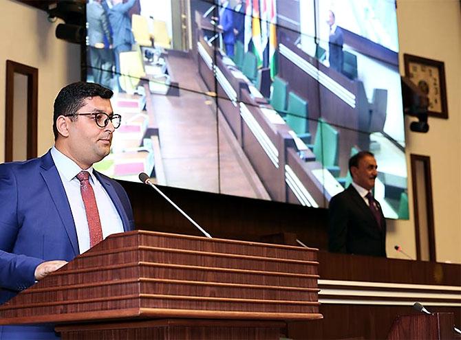 Kürdistan Parlamentosu'nun yeni üyeleri yemin etti galerisi resim 28