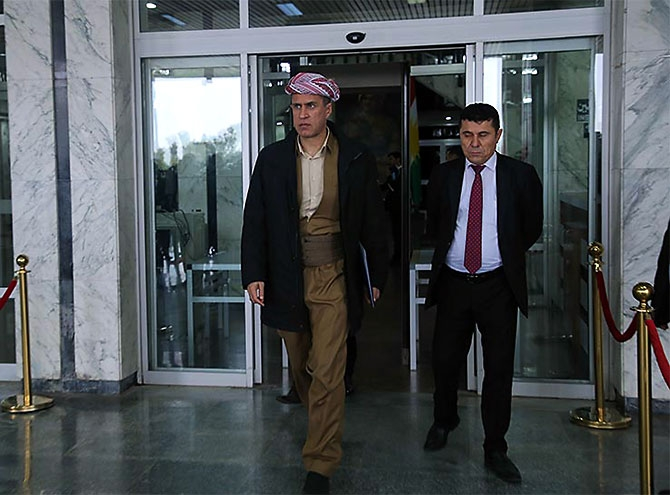 Kürdistan Parlamentosu'nun yeni üyeleri yemin etti galerisi resim 33