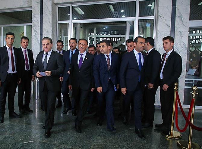 Kürdistan Parlamentosu'nun yeni üyeleri yemin etti galerisi resim 35