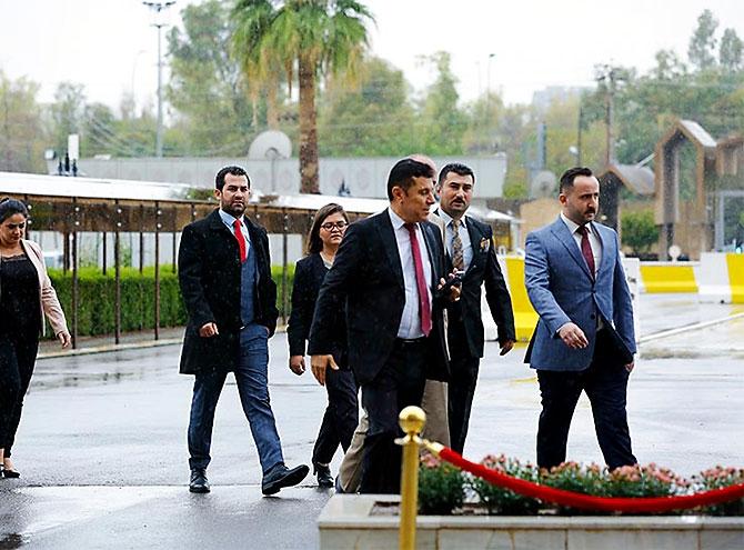 Kürdistan Parlamentosu'nun yeni üyeleri yemin etti galerisi resim 4