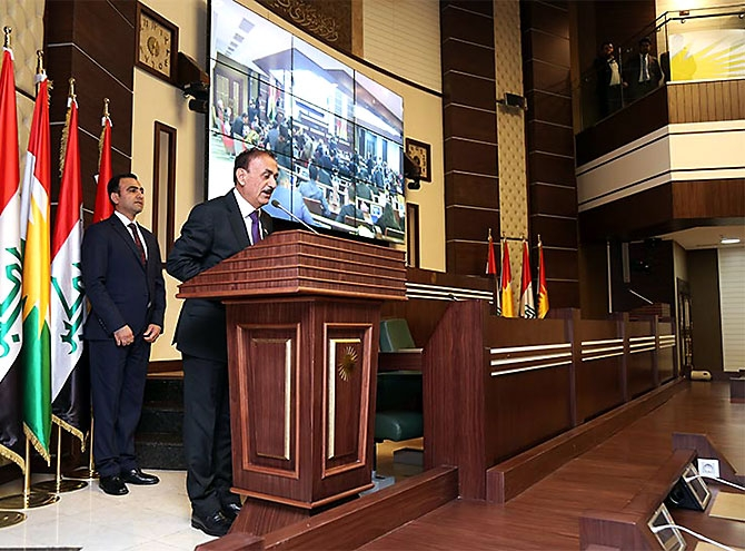 Kürdistan Parlamentosu'nun yeni üyeleri yemin etti galerisi resim 8