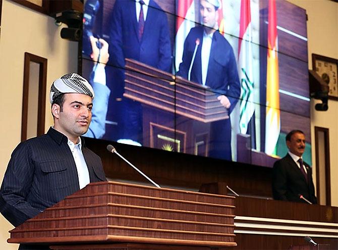 Kürdistan Parlamentosu'nun yeni üyeleri yemin etti galerisi resim 9