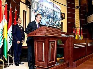 Kürdistan Parlamentosu'nun yeni üyeleri yemin etti