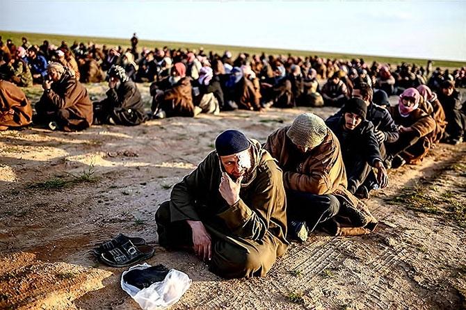 IŞİD'in son mevzisinden kaçış... galerisi resim 2