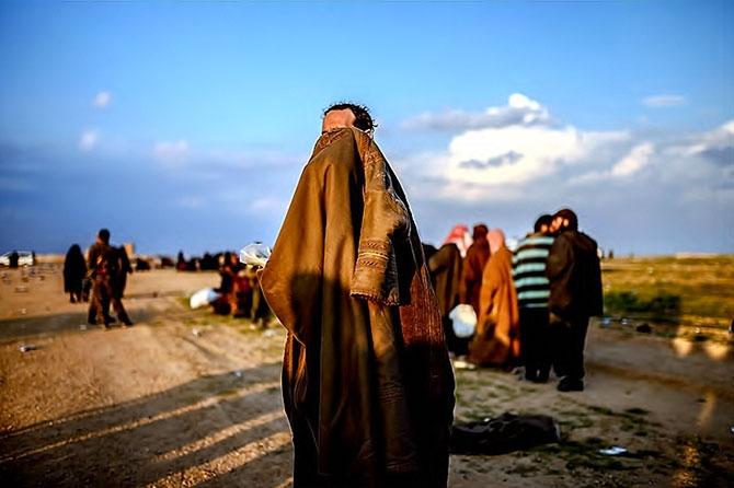 IŞİD'in son mevzisinden kaçış... galerisi resim 20