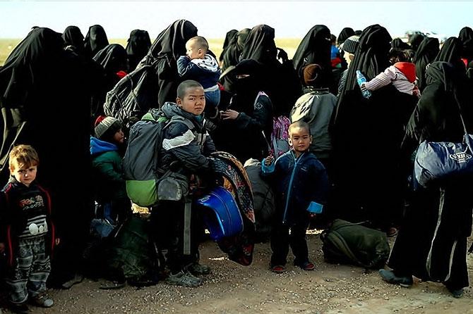 IŞİD'in son mevzisinden kaçış... galerisi resim 21