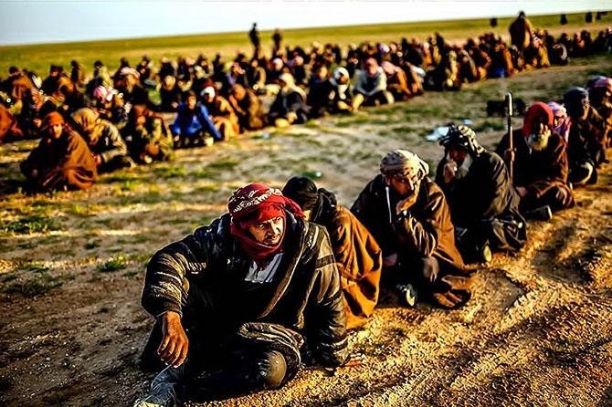 IŞİD'in son mevzisinden kaçış... galerisi resim 4